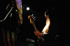 Malia James, bassist of Dum Dum Girls Stock Images