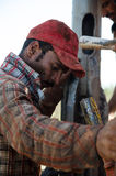 Malian worker Royalty Free Stock Images