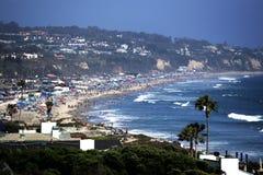 Malibu, Тихоокеанское побережье Hightway, Калифорния Стоковое Изображение