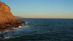 Malibu Aerial Point Dume stock video footage