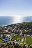 Malibu Afternoon Aerial Royalty Free Stock Image