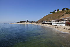 Malibu Bay. Near Surfrider beach on a clear calm morning Royalty Free Stock Image