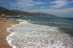 Malibu Beach. Los Angeles, California Stock Photo
