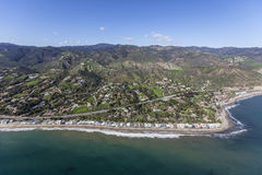 Malibu Beach Aerial Stock Photography