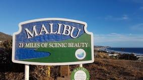 Malibu beach. California Royalty Free Stock Photo