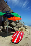 In Malibu beach, California Stock Image