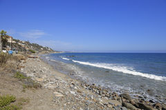 Malibu Beach California. Stock photo of Malibu Beach California in the summer Stock Image