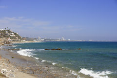 Malibu Beach California. Stock photo of Malibu Beach California in the summer Stock Images