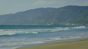 Malibu Beach stock video footage