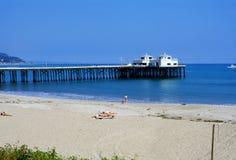 Malibu beach Royalty Free Stock Images