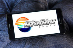 Malibu boats logo Stock Photos