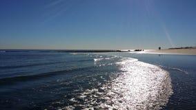 Malibu Bränning-ryttare strand Royaltyfri Fotografi