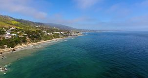 Malibu California stock footage