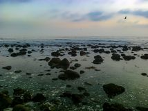Malibu California Dream. A lovely picture of my favorite place, Malibu California Royalty Free Stock Images