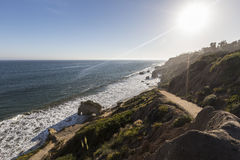Malibu California Trail at El Matador State Beach.  Stock Images