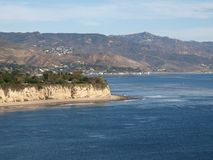 Malibu Coast. The beautiful Malibu Coast in Southern California Royalty Free Stock Photos