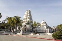 The Malibu Hindu Temple. The Hindu temple in Calabazas, Malibu CA Royalty Free Stock Image