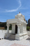 Malibu Hindu Temple - Corner Structure. View of one of the four corner structures at the Malibu Hindu Temple located in the Santa Monica Mountains in Calabasas Royalty Free Stock Image