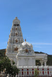 Malibu Hindu Temple. Located in the Santa Monica Mountains in Calabasas, California. The Hindu temple was built in South Indian style architecture in 1981 Stock Images