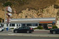 Malibu INN Restaurant On Malibu Beach. Restoration Nature Landscape. July 4, 2017. Malibu California USA EEUU Royalty Free Stock Photos