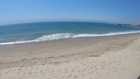 Malibu-Kohlenstoff-Strand stock video footage
