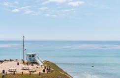 Malibu livvakt Shack Royaltyfri Bild