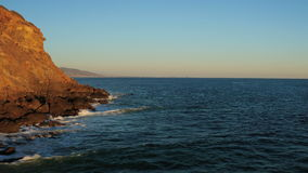 Malibu-Luftpunkt Dume stock video footage