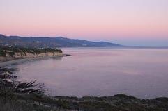 Malibu. Nice view from the mountain at Malibu Royalty Free Stock Photos