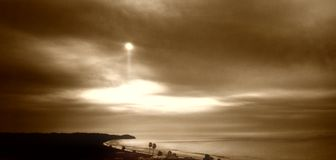 Malibu nordico immagine stock