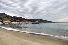 Malibu Pier. The Malibu Pier located north of Malibu, California Royalty Free Stock Image