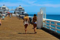 Malibu-Pier Lizenzfreie Stockbilder