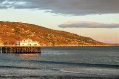 Malibu-Pier Stockfotos