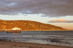 Malibu-Pier Stockfoto