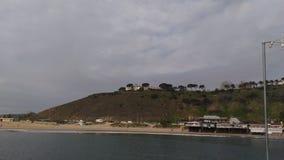 Malibu pier. At Malibu Stock Photography