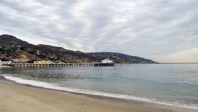 Malibu Pier. The Pier at Malibu, California Royalty Free Stock Photos
