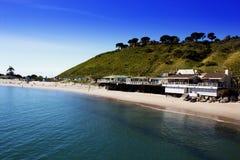 Malibu Pier, California, USA. Malibu Lagoon State Beach Royalty Free Stock Images