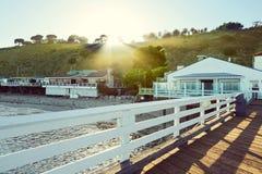 Malibu Pier, Malibu, California, USA Royalty Free Stock Photo