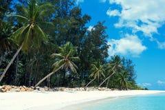 Malibu plaża przy Koh Phangan wyspą, Tajlandia obrazy stock