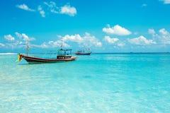 Malibu plaża przy Koh Phangan wyspą, Tajlandia fotografia royalty free