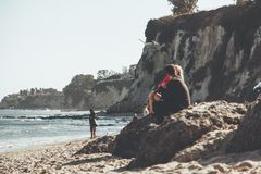 Malibu romantisches Love Story lizenzfreie stockfotografie