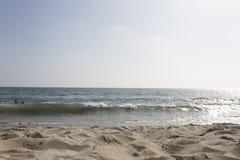 Malibu seaside. View from malibu seaside in the USA Stock Photos