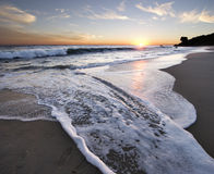 Malibu Sonnenuntergang Stockbilder