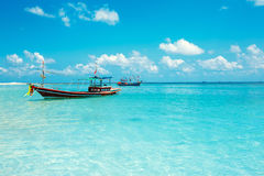 Malibu strand på Koh Phangan Island, Thailand Royaltyfri Fotografi