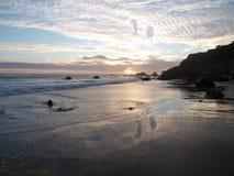 Malibu Sunset Royalty Free Stock Photo