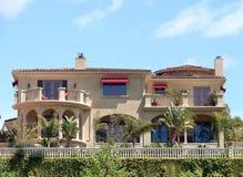 Malibu Villa Stockbilder