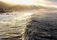 Malibu świt Obrazy Royalty Free