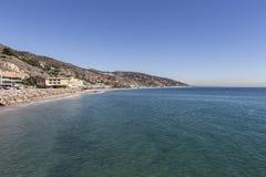 Malibu wybrzeże Obrazy Royalty Free