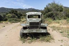 Malibu zatoczki stanu parka ciężarówka fotografia stock