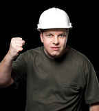 Malicious builder Stock Photos