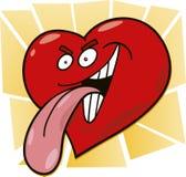 Malicious heart Royalty Free Stock Photo